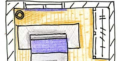 Line, Purple, Rectangle, Parallel, Majorelle blue, Illustration, Drawing,
