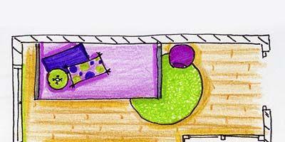 Purple, Line, Violet, Magenta, Rectangle, Parallel, Lavender, Illustration, Drawing, Child art,