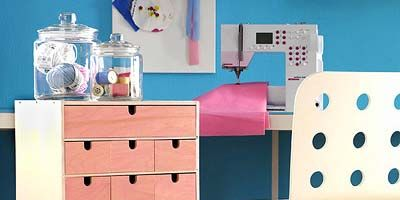 Blue, Product, Wood, Room, Chest of drawers, Pink, Wall, Drawer, Cabinetry, Pattern,