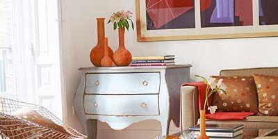 Room, Furniture, Interior design, Drawer, Table, Sideboard, Cabinetry, Interior design, Home, Living room,