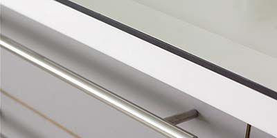 Line, Fixture, Metal, Parallel, Grey, Composite material, Material property, Aluminium, Steel, Rectangle,