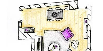 Purple, Line, Parallel, Drawing, Diagram, Plan, Illustration, Square,