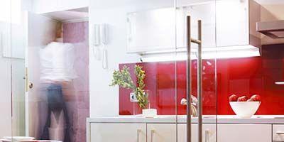 Room, Property, Floor, Interior design, Flooring, Major appliance, Cabinetry, Fixture, Cupboard, Interior design,