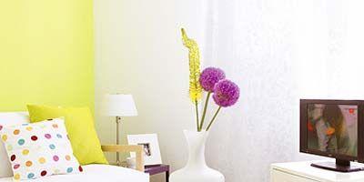 Room, Interior design, Furniture, Wall, Home, Interior design, Lavender, Floor, Purple, Living room,