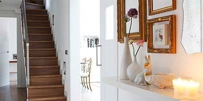 Floor, Interior design, Room, Wood, Stairs, Flooring, Property, Wall, White, Interior design,