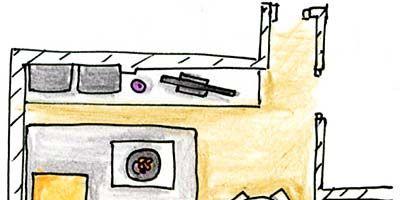 Yellow, Purple, Line, Parallel, Violet, Rectangle, Illustration, Drawing, Artwork, Sketch,