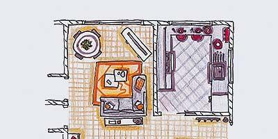 Line, Magenta, Parallel, Artwork, Illustration, Rectangle, Drawing, Sketch, Plan, Diagram,