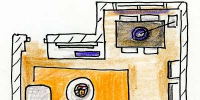 Yellow, Line, Parallel, Rectangle, Artwork, Illustration, Design, Drawing, Circle, Still life,