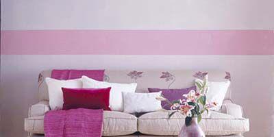 Interior design, Room, Brown, Living room, Furniture, Wall, Home, Floor, White, Purple,