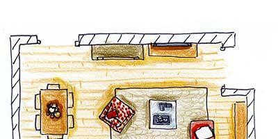 Line, Cartoon, Illustration, Rectangle, Artwork, Drawing, Sketch,