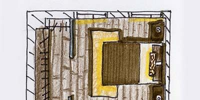 Yellow, Line, Parallel, Artwork, Rectangle, Plan, Illustration, Drawing, Paint, Painting,