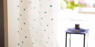 Textile, Pattern, Aqua, Teal, Design, Linens, End table, Window treatment, Pattern, Paper,
