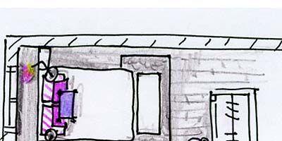 Line, Magenta, Purple, Parallel, Rectangle, Illustration, Drawing, Sketch, Artwork,