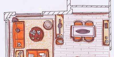 Line, Orange, Art, Artwork, Illustration, Machine, Drawing, Paint, Peach, Painting,