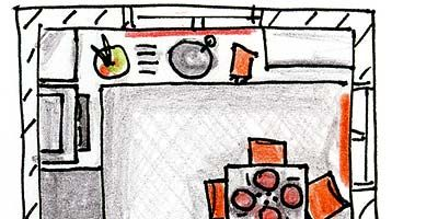Line, Orange, Parallel, Rectangle, Illustration, Drawing, Circle, Artwork, Sketch,