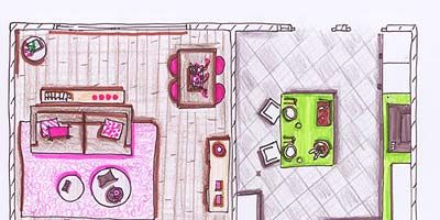 Purple, Magenta, Pink, Line, Parallel, Violet, Rectangle, Lavender, Plan, Artwork,