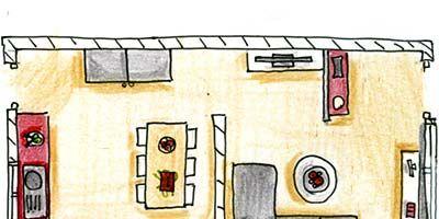 Property, Line, Home, Artwork, House, Art, Rectangle, Paint, Parallel, Cartoon,