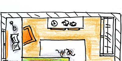 Yellow, Line, Rectangle, Parallel, Illustration, Drawing, Handwriting, Child art, Artwork, Sketch,