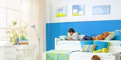 Human, Product, Room, Interior design, Comfort, Textile, Bedding, Wall, Furniture, Bedroom,