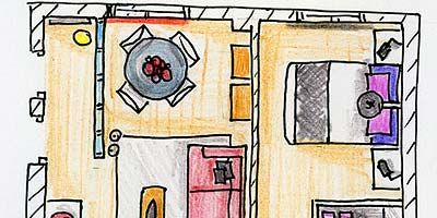 Pink, Line, Purple, Magenta, Artwork, Parallel, Rectangle, Illustration, Drawing, Peach,