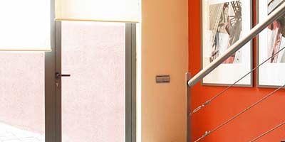 Property, Floor, Room, Flooring, Wall, Interior design, Fixture, Stairs, Door, Home door,