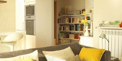 Room, Brown, Yellow, Interior design, Wood, Property, Wall, Furniture, Home, Living room,