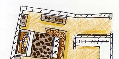 Yellow, Line, House, Artwork, Rectangle, Parallel, Illustration, Design, Plan, Drawing,