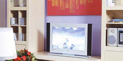 Room, Interior design, Interior design, Shelving, Living room, Shelf, Lamp, Home appliance, Home, Display device,