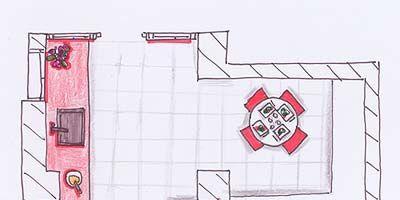 Line, Magenta, Parallel, Rectangle, Artwork, Illustration, Drawing, Sketch, Diagram, Plan,