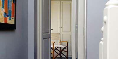Wood, Room, Floor, Property, Wall, Interior design, Flooring, Door, Home door, Paint,