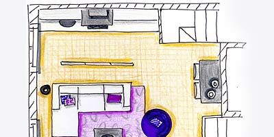 Line, Purple, Parallel, Machine, Rectangle, Artwork, Plan, Illustration, Drawing, Technical drawing,