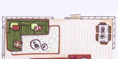Pintar y distribuir el salón-comedor