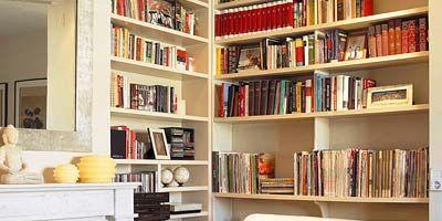 Room, Wood, Interior design, Shelf, Property, Shelving, Wall, Hearth, Publication, Bookcase,