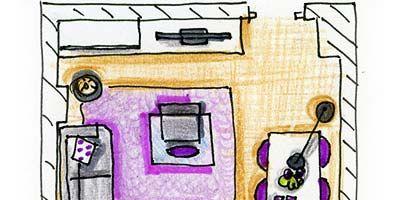 Purple, Pink, Magenta, Line, Violet, Lavender, Parallel, Rectangle, Artwork, Illustration,