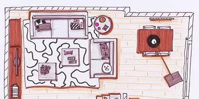 Line, Pink, Purple, Art, Magenta, Parallel, Artwork, Rectangle, Illustration, Drawing,
