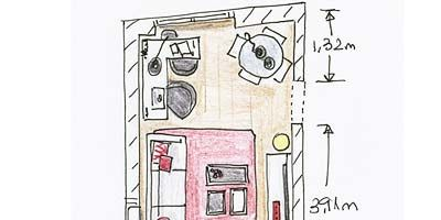 Line, Rectangle, Parallel, Magenta, Artwork, Diagram, Illustration, Plan, Drawing, Sketch,