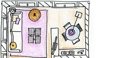 Line, Purple, Parallel, Magenta, Rectangle, Circle, Illustration, Diagram, Artwork, Drawing,