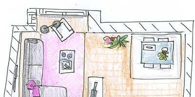 Pink, Line, Purple, Artwork, Parallel, Rectangle, Lavender, Illustration, Design, Painting,