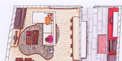 Pink, Magenta, Artwork, Illustration, Drawing, Plan, Painting, Sketch, Graphics,