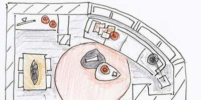 Parallel, Artwork, Illustration, Drawing, Circle, Line art, Painting, Sketch, Diagram,