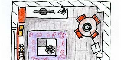 Line, Parallel, Rectangle, Illustration, Artwork, Drawing, Child art, Sketch, Square,