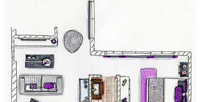 Purple, Magenta, Line, Pink, Violet, Parallel, Lavender, Machine, Rectangle, Design,