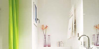 Plumbing fixture, Room, Product, Interior design, Bathroom sink, Wall, Architecture, Property, Purple, Tap,