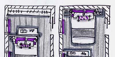 Purple, Line, Magenta, Violet, Artwork, Rectangle, Parallel, Lavender, Illustration, Drawing,