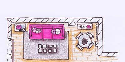 Purple, Pink, Line, Magenta, Violet, Parallel, Artwork, Lavender, Rectangle, Home,