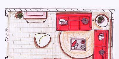 Red, Line, Art, Rectangle, Artwork, Cartoon, Parallel, Paint, Illustration, Painting,
