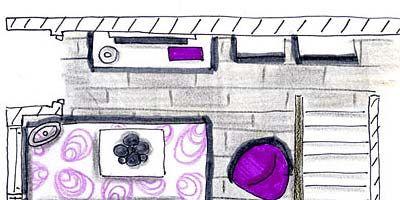 Purple, Magenta, Pink, Violet, Lavender, Art, Parallel, Rectangle, Artwork, Illustration,