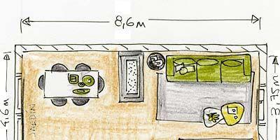 Yellow, Line, Parallel, Rectangle, Illustration, Drawing, Painting, Artwork, Handwriting, Plan,
