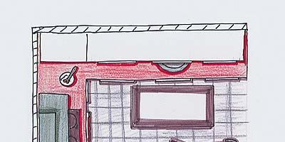 Red, Line, Pink, Art, Rectangle, Artwork, Parallel, Illustration, Painting, Drawing,