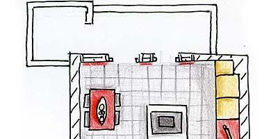 Line, Rectangle, Parallel, Drawing, Illustration, Plan, Artwork, Sketch,